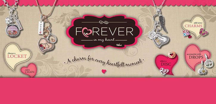 Chic Boutique Forever in My Heart Keepsakes