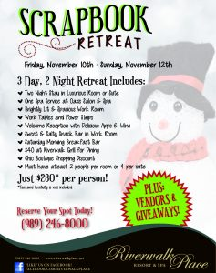FINAL 2017 event flyer-Scrapbook Retreat