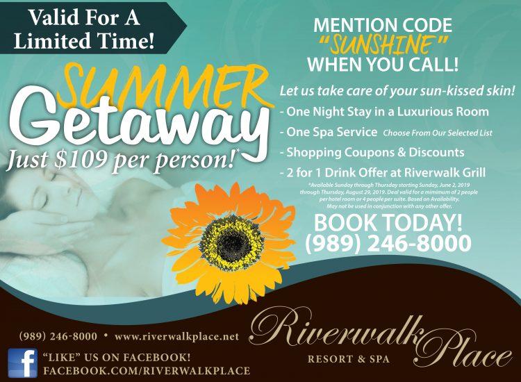 Summer Getaway Flyer